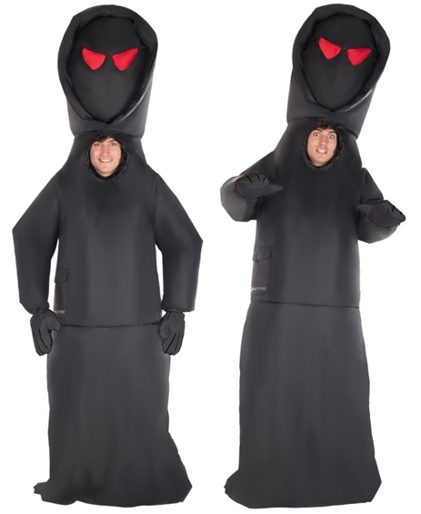 GIANT INFLATABLE DEATH GRIM REAPER ADULT COSTUME