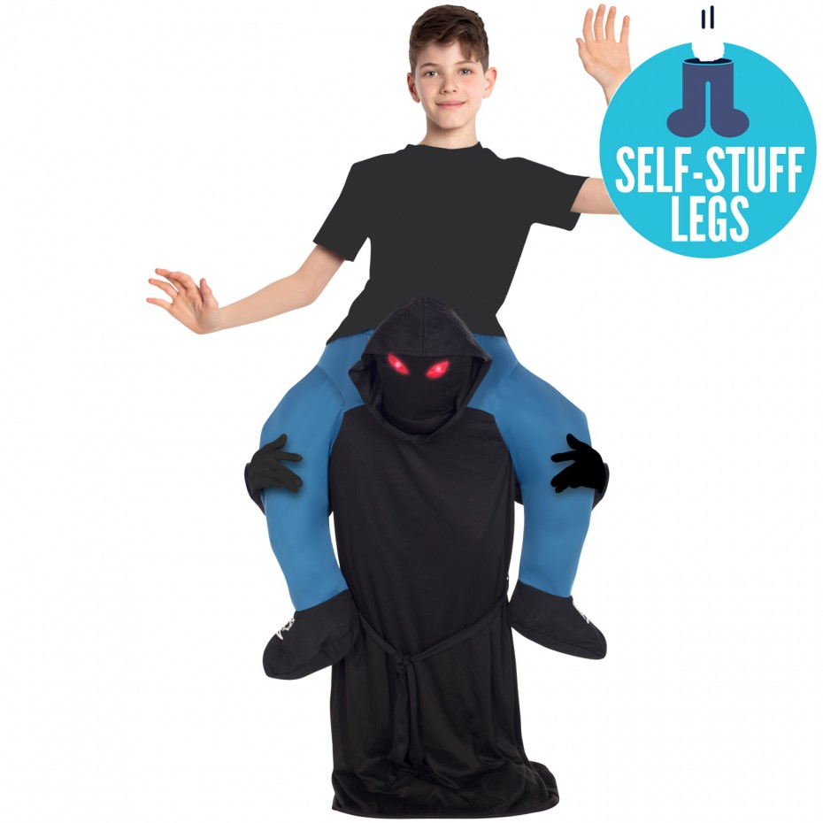 GHOUL GRIM REAPER PIGGYBACK CARRY ME KIDS COSTUME