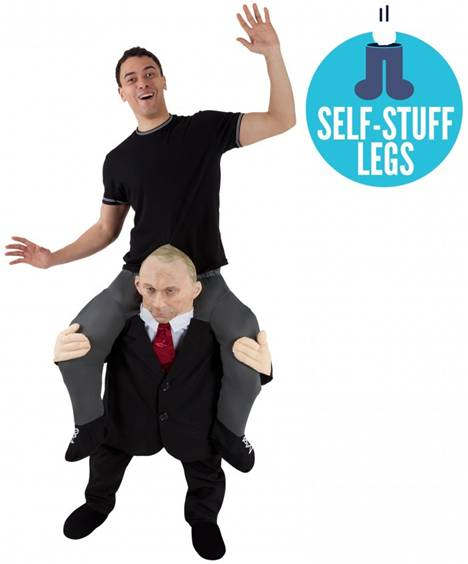 CARRY ME COMRADE PUTIN FUN COSTUME FOR ADULTS