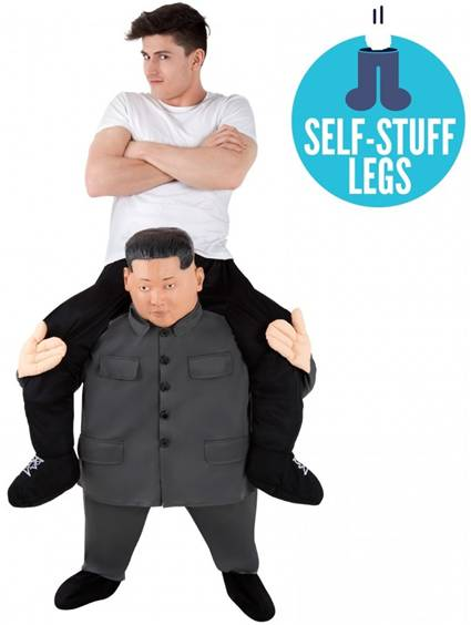 CARRY ME KIM JONG-UN FUN COSTUME FOR ADULTS