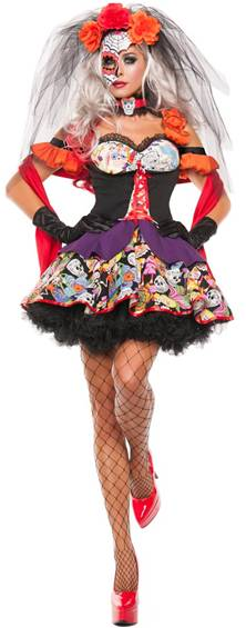 SEXY DAY OF THE DEAD COSTUME FOR WOMEN $44.99  sc 1 st  Crazy For Costumes & Crazy For Costumes/La Casa De Los Trucos (305) 858-5029 - Miami ...