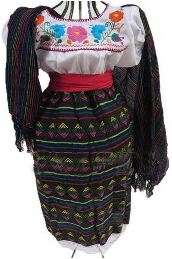 MEXICAN GIRL COSTUME FOR GIRLS