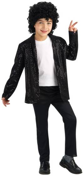MICHAEL JACKSON SEQUIN BILLY JEAN JACKET