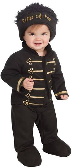 MICHAEL JACKSON MILITARY JACKET ROMPER