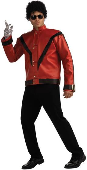 DELUXE MICHAEL JACKSON THRILLER JACKET FOR MEN