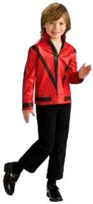 MICHAEL JACKSON PRINTED THRILLER JACKET