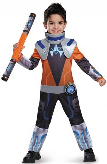 CHROME MILES FROM TOMORROWLAND COSTUME FOR BOYS