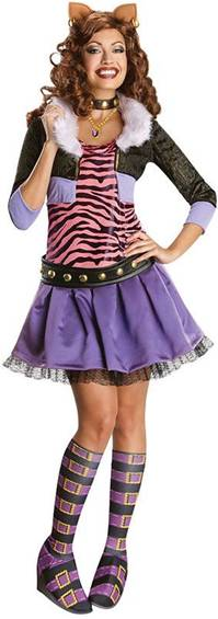 CLAWDEEN WOLF $49.99  sc 1 st  Crazy For Costumes/La Casa De Los Trucos (305) 858-5029 - Miami ... : best monster high costumes  - Germanpascual.Com