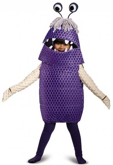 DISNEY'S MONSTERS INC BOO DELUXE COSTUME FOR GIRLS