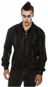 MULTI-PURPOSE GOTHIC COSTUME SHIRT FOR MEN