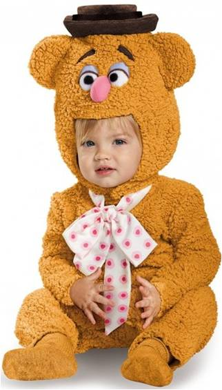 FOZZIE BEAR COSTUME FOR INFANT BOYS
