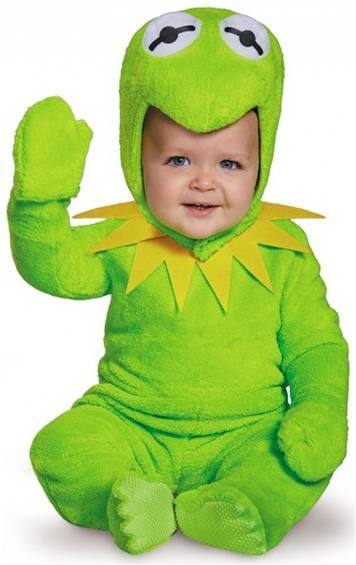 KERMIT THE FROG COSTUME FOR INFANT BOYS