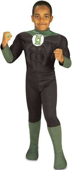 GREEN LANTERN WITH MUSCLE TORSO
