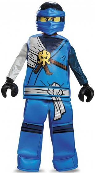 LEGO NINJAGO JAY PRESTIGE COSTUME FOR BOYS