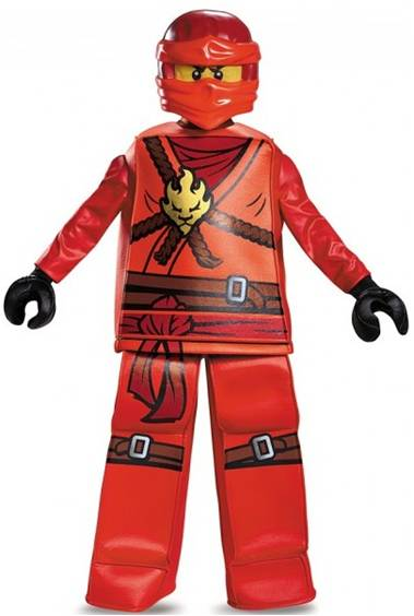 LEGO NINJAGO KAI PRESTIGE COSTUME FOR BOYS