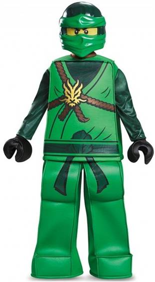 LEGO NINJAGO LLOYD PRESTIGE COSTUME FOR BOYS