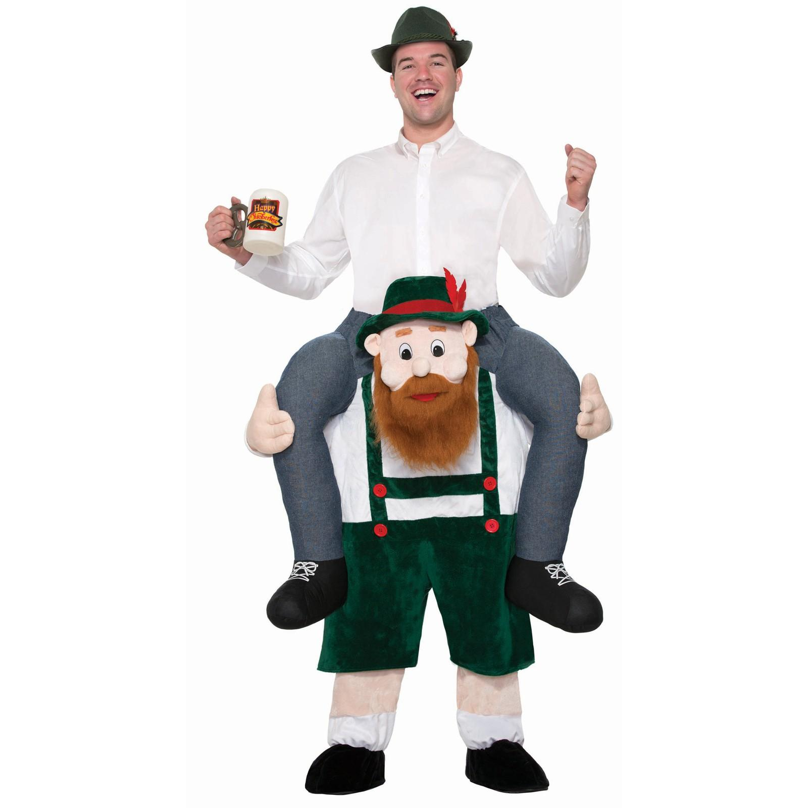 BEER BUDDY RIDE ON OKTOBERFEST COSTUME FOR ADULTS