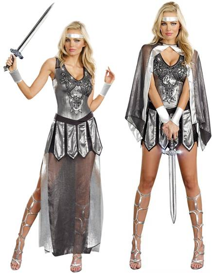ONE HOT KNIGHT SEXY COSTUME FOR WOMEN