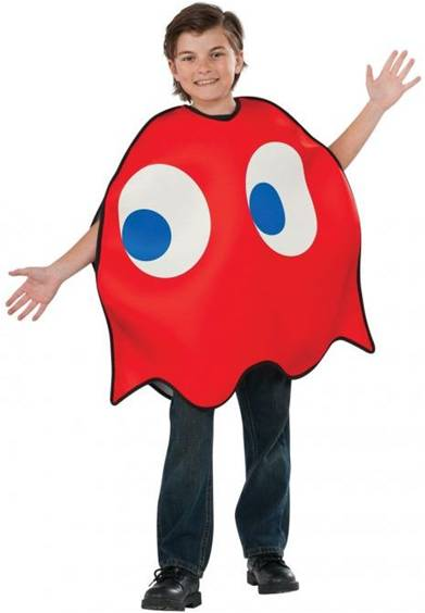 PAC-MAN BLINKY THE GHOST COSTUME FOR KIDS Click for larger image  sc 1 st  Crazy For Costumes/La Casa De Los Trucos (305) 858-5029 - Miami ... & Crazy For Costumes/La Casa De Los Trucos (305) 858-5029 - Miami ...