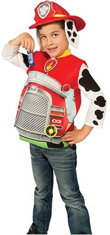 PAW PATROL MARSHALL CANDY CATCHER COSTUME FOR BOYS