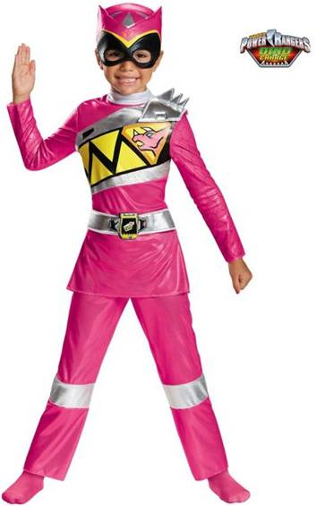 PINK POWER RANGER DINO CHARGE