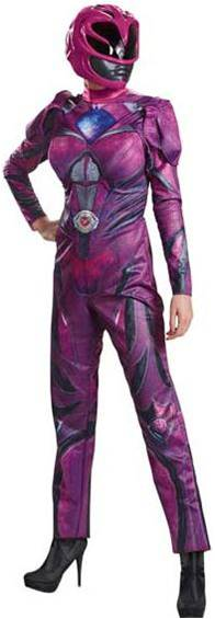 POWER RANGERS MOVIE PINK RANGER COSTUME FOR WOMEN
