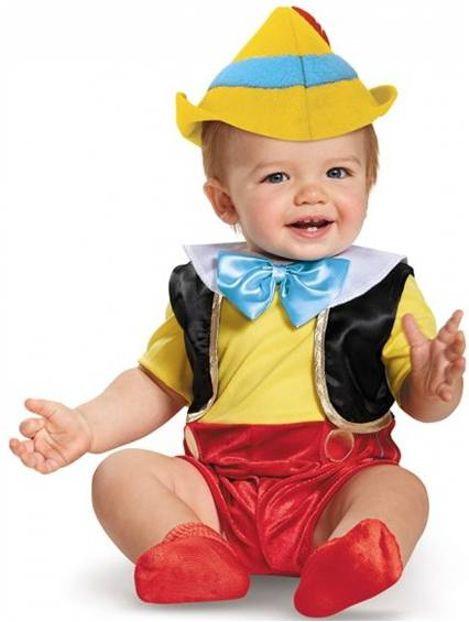 DISNEY'S PINOCCHIO PUPPET COSTUME FOR INFANTS BOYS