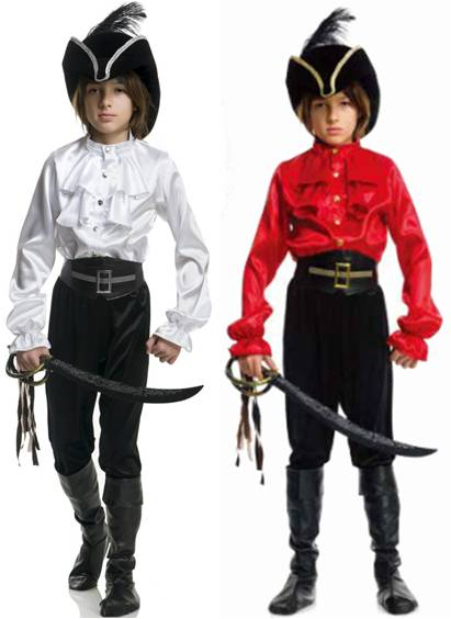 DELUXE PIRATE SHIRT FOR KIDS