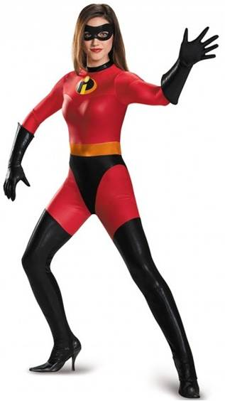 DELUXE THE INCREDIBLES MRS. INCREDIBLE ELASTIGIRL
