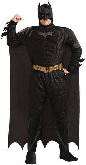 DELUXE PLUS SIZE BATMAN