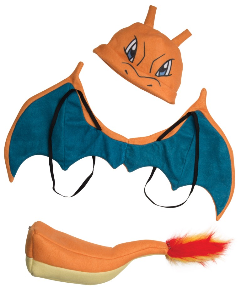 CHARIZARD ACCESSORY COSTUME KIT
