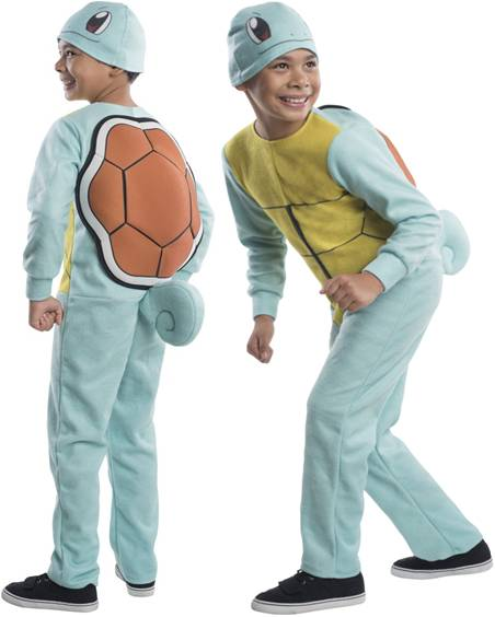 POKEMON SQUIRTLE UNISEX COSTUME FOR KIDS*