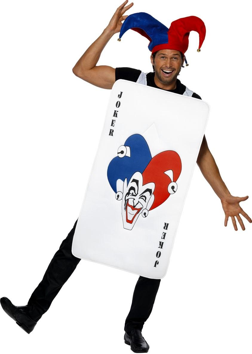 Halloween Joker Card.Joker Card Costume Joker Video Poker Online Casino Playing Card