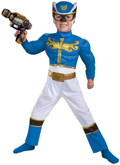 DELUXE POWER RANGERS BLUE RANGER MEGAFORCE