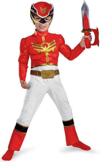 DELUXE POWER RANGERS RED RANGER MEGAFORCE