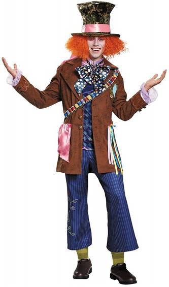 *ON SALE* PRESTIGE MAD HATTER COSTUME FOR MEN