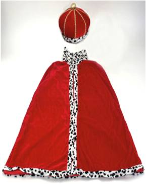 PRINCE CAPE AND CROWN