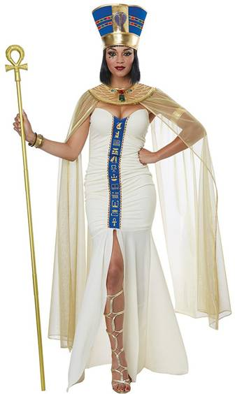 CLEOPATRA QUEEN OF EGYPT COSTUME FOR WOMEN