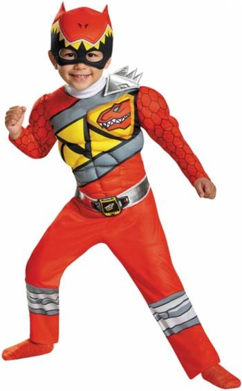RED POWER RANGER DINO CHARGE