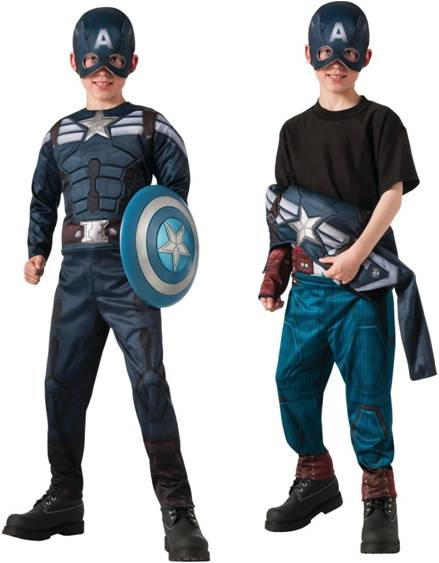 DELUXE REVERSIBLE MUSCLE CHEST CAPTAIN AMERICA