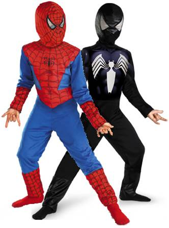 REVERSIBLE SPIDER-MAN