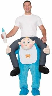 RIDE-ON BABY COSTUME FOR ADULTS