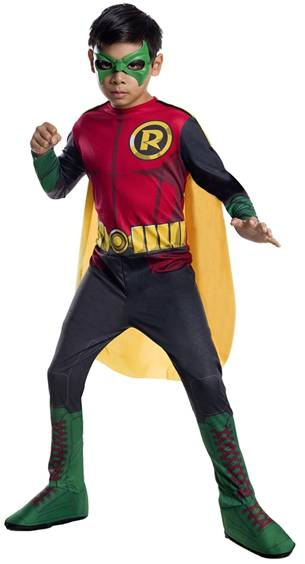 CLASSIC ROBIN COSTUME FOR BOYS