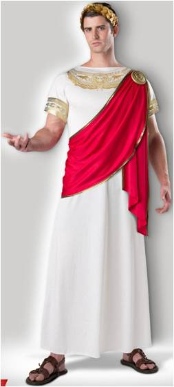 JULIUS CAESAR COSTUME FOR MEN