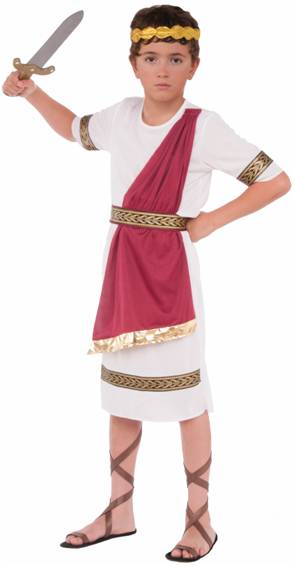 JULIUS CAESAR COSTUME FOR BOYS
