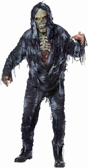 ROTTEN TO THE CORE ZOMBIE COSTUME FOR MEN