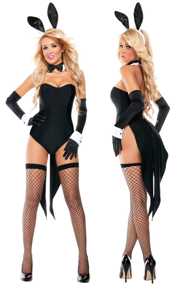 SEXY NAUGHTY NIGHTS BUNNY COSTUME FOR WOMEN