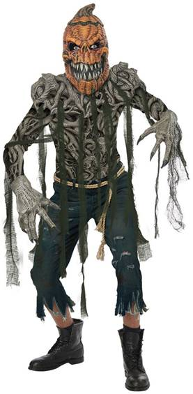 SCARY PUMPKIN CREATURE MONSTER COSTUME FOR MEN