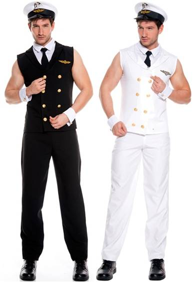 SEXY AIRLINE PILOT COSTUME FOR MEN Click for larger image  sc 1 st  Crazy For Costumes/La Casa De Los Trucos (305) 858-5029 - Miami ... & Crazy For Costumes/La Casa De Los Trucos (305) 858-5029 - Miami ...