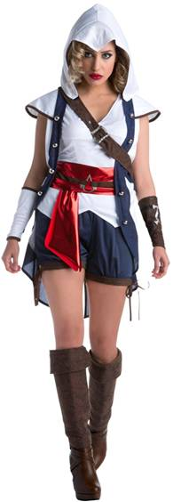 ASSASSINS CREED SEXY CONNOR COSTUME FOR WOMEN